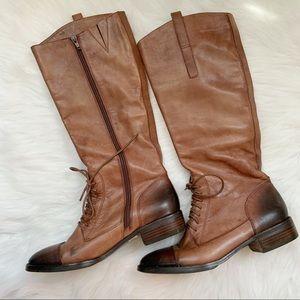 SAKS FIFTH AVENUE Whiskey Tye Dye Sf-Alena Boots